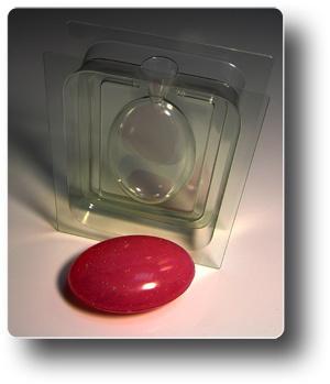 Пластиковая форма для мыла 3D Овал