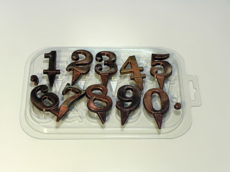 Цифра из шоколада на торт своими руками