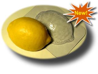 Пластиковая форма для мыла Лимон
